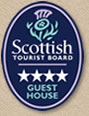 Scottish Tourist Board 4 star Guest House award